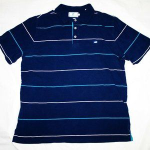 Southern Tide Mens Short Sleeve Polo Striped Shirt